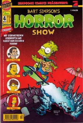 Simpson Comics Präsentiert: Bart Simpson´s Horror Show Heft 4 - Sonderheft