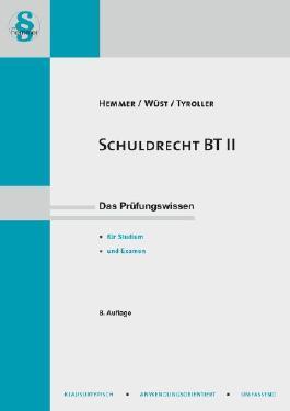 Schuldrecht BT. Tl.2