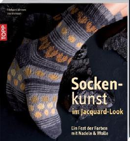 Sockenkunst im Jacquard-Look