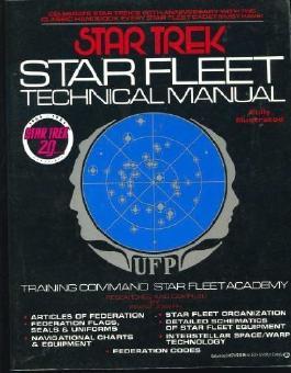 Star Trek: Star Fleet Technical Manual by Joseph, Franz (1986) Paperback