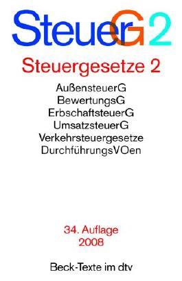 Steuergesetze 2 (SteuerG2)