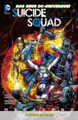Suicide Squad Megaband #1 - Mission Basilisk (2013, Panini) ***Der komplette Jahrgang auf 324 Seiten*** New 52