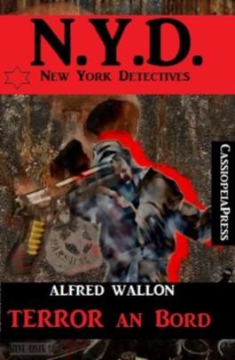 Terror an Bord (New York Detectives)