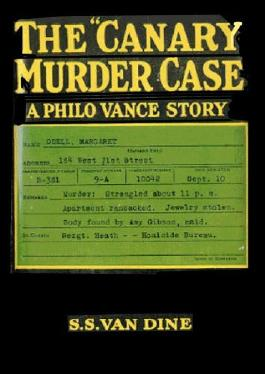 """The """"Canary"""" Murder Case"""