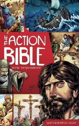 The Action Bible New Testament: God's Redemptive Story (Picture Bible) New Edition by unknown [2012]