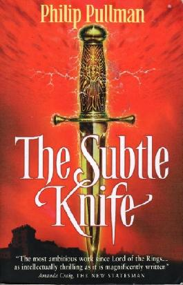 The Subtle Knife by Philip Pullman 1998 Scholastic