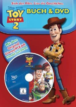 Toy Story 2 Buch und DVD
