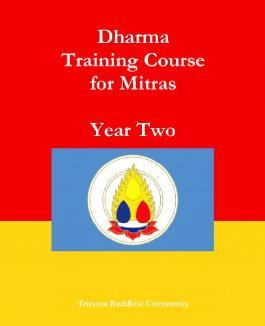 Triratna Dharma Training Course Year 2