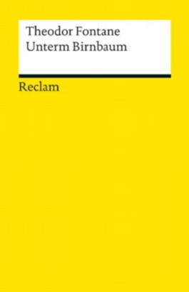 Unterm Birnbaum: Reclams Universal-Bibliothek