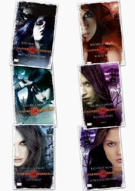 Vampire Academy, Band 1,2,3,4,5,6 von Richelle Mead (Vampire Academy)