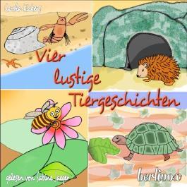 Vier lustige Tiergeschichten