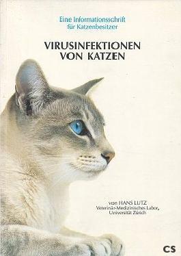 Virusinfektion von Katzen.
