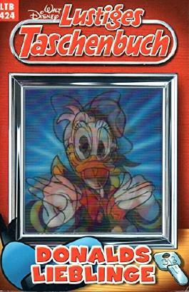 """WALT DISNEY Lustiges Taschenbuch (LTB) # 424: DONALD DUCK in """"Donalds Lieblinge"""""""