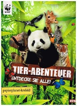 WWF Tier-Abenteuer Entdecke sie alle REWE, komplett, Sticker-Album