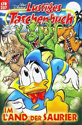 Walt Disney Lustiges Taschenbuch LTB 237, Im Land der Saurier