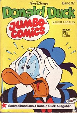 Walt Disneys Jumbo-Comics Donald Duck Band 37 Sammelband aus 4 Donald Duck-Ausgaben