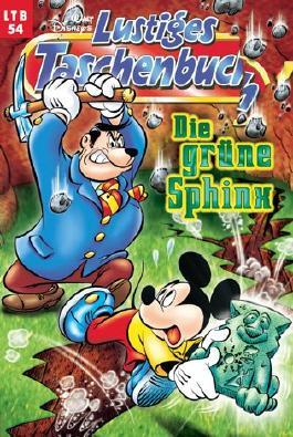 Walt Disneys Lustiges Taschenbuch LTB 54 Die grüne Sphinx