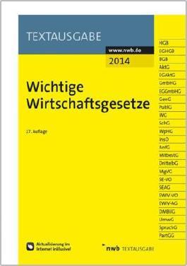 Wichtige Wirtschaftsgesetze 2014