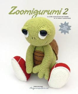 Zoomigurumi 2 - 15 amigurumi patterns to make these adorable animals. This amigurumi book also offers step-by-step explanation for the necessary crochet stitches.