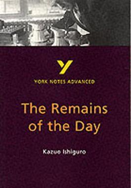 """Remains of the Day"", Kazuo Ishiguro"