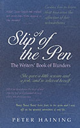 A Slip of the Pen