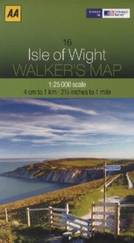 Aa Isle of Wight Walker's Map