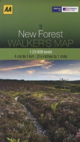 Aa New Forest Walker's Map