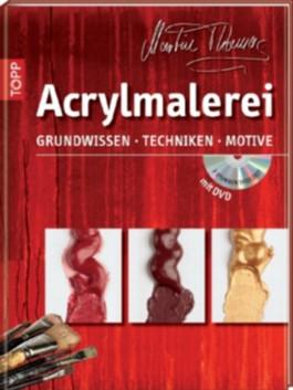Acrylmalerei, m. DVD