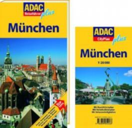 ADAC Reiseführer Plus München + Cityplan