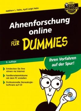 Ahnenforschung online für Dummies, m. CD-ROM