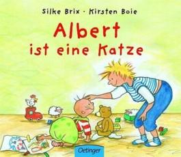 Albert ist eine Katze