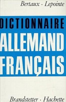 Allemand-Francais, Deutsch-Französisch