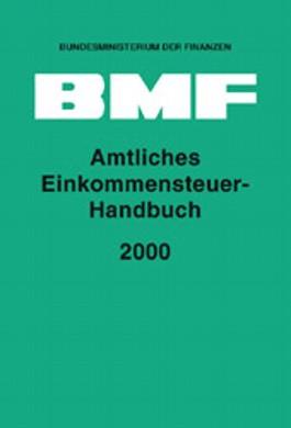 Amtliches Einkommensteuer-Handbuch 2000