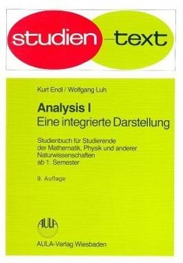 Analysis. Bd.1