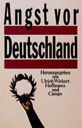 Angst vor Deutschland
