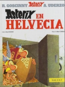 Asterix en Helvecia / Asterix in Switzerland