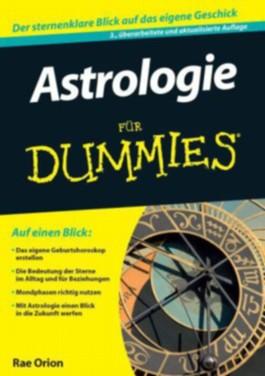 Astrologie Fur Dummies