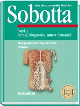 Atlas der Anatomie des Menschen, 2 Bde., Bd.2, Rumpf, Eingeweide, untere Extremität: Bd. 2