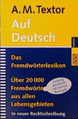 Auf deutsch, neue Rechtschreibung