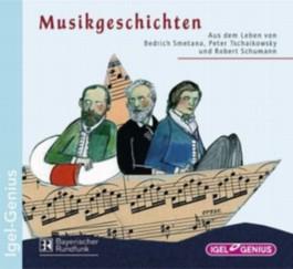 Aus dem Leben von Bedrich Smetana, Peter Tschaikowsky und Robert Schumann