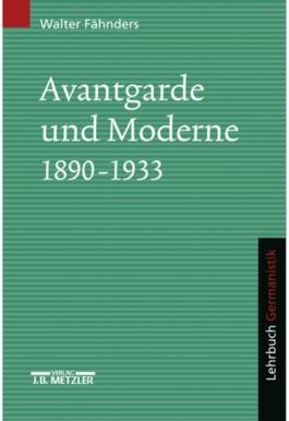 Avantgarde und Moderne 1890-1933
