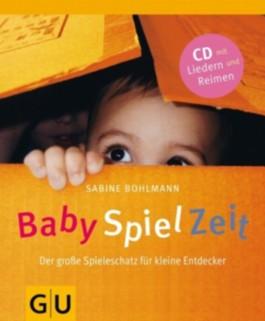 BabySpielZeit, m. Audio-CD