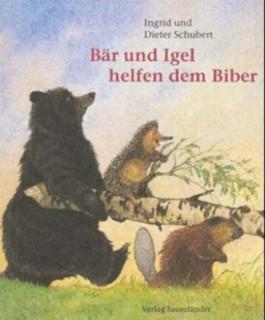 Bär und Igel helfen dem Biber