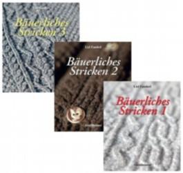 Bäuerliches Stricken, 3 Bände