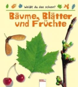 Bäume, Blätter und Früchte