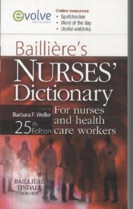 Bailliere's Nurses Dictionary