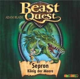 Beast Quest - Sepron, König der Meere, 1 Audio-CD