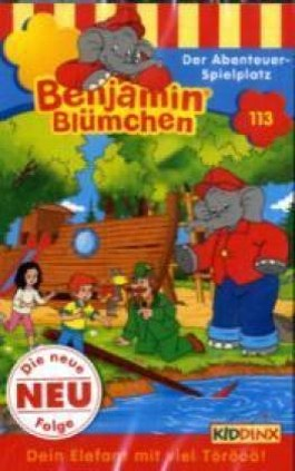 Benjamin Blümchen - Der Abenteuer-Spielplatz, 1 Cassette