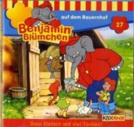 Benjamin Blümchen auf dem Bauernhof, 1 Audio-CD