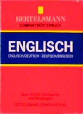 Bertelsmann Kompaktwörterbuch, Englisch